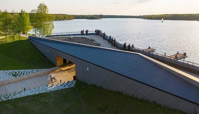 MOSM Canoe Centre with EQUITONE, finalist Building of the Year 2021